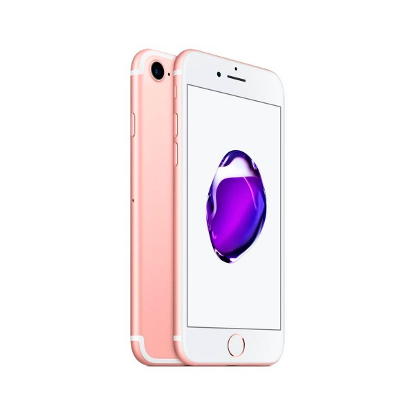 Apple iphone 7 32gb oro rosa reacondicionado cpo móvil 4g 4.7'' retina hd/4core/32gb/2gb ram/12mp/7mp