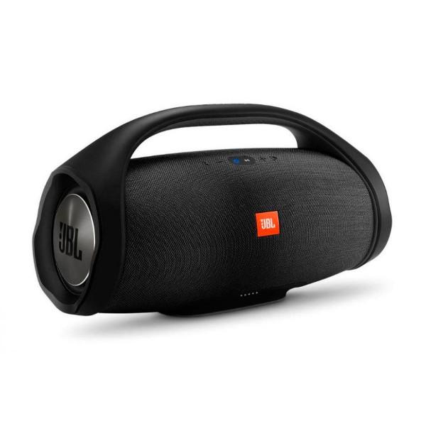 Jbl boombox negro altavoz inalámbrico bluetooth 60w de alta potencia amplificador integrado resistente al agua
