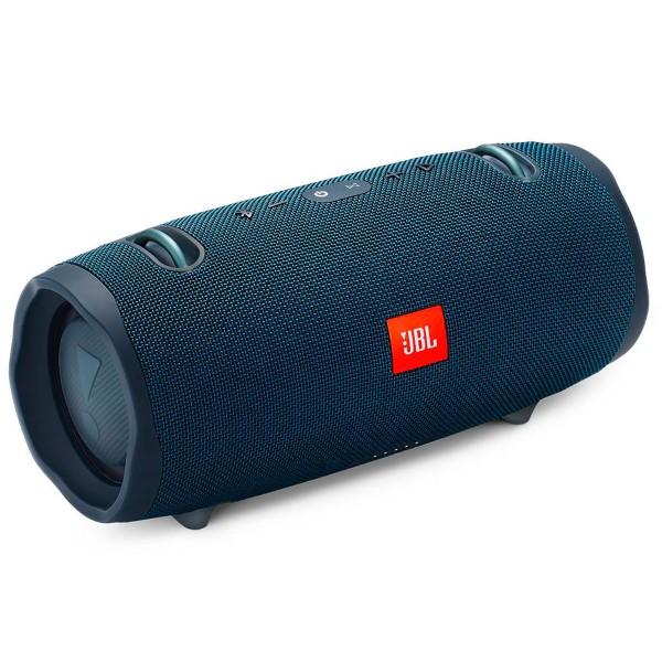 Jbl xtreme 2 azul altavoz inalámbrico portátil 40w rms bluetooth impermeable ipx7 correa de transporte