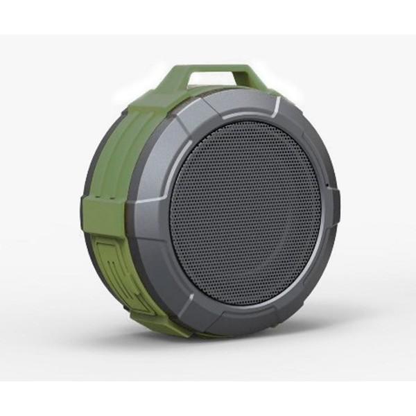 Maxton mx51 telica verde caqui altavoz inalámbrico 3w bluetooth resistente al agua con micrófono integrado
