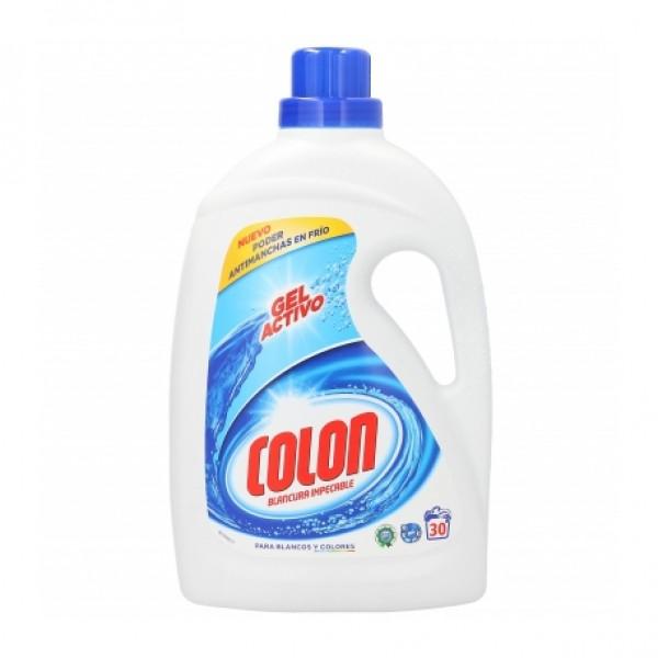 Colon blancura impecable gel activo 28+ 3 dosis blancos y colores