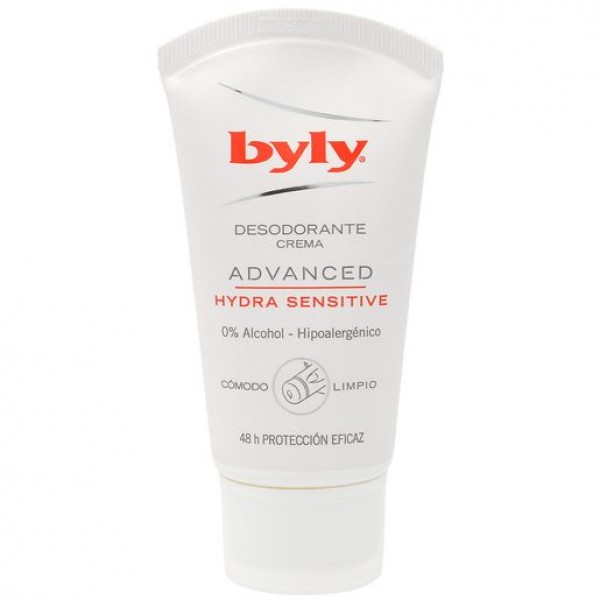 Byly desodorante crema advanced hydra sensitive 50 + 25 ml