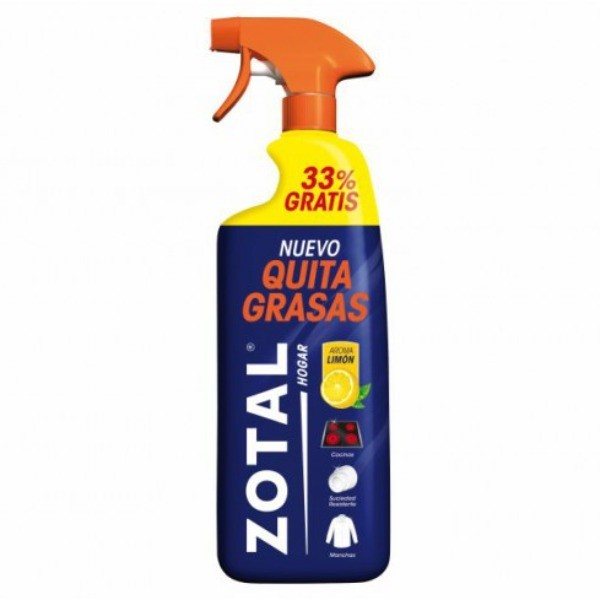 ZOTAL Quitagrasas Pistola 750 + 33 % Limón