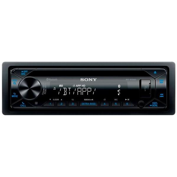 Sony mex-n4300bt radio cd con tecnología inalámbrica usb y doble bluetooth