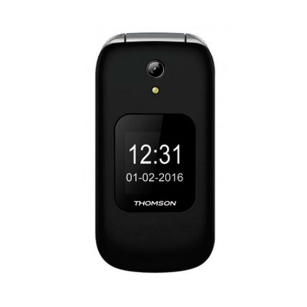 Thomson serea 66 negro móvil senior plegable 2.4'' tft bluetooth cámara microsd radio fm