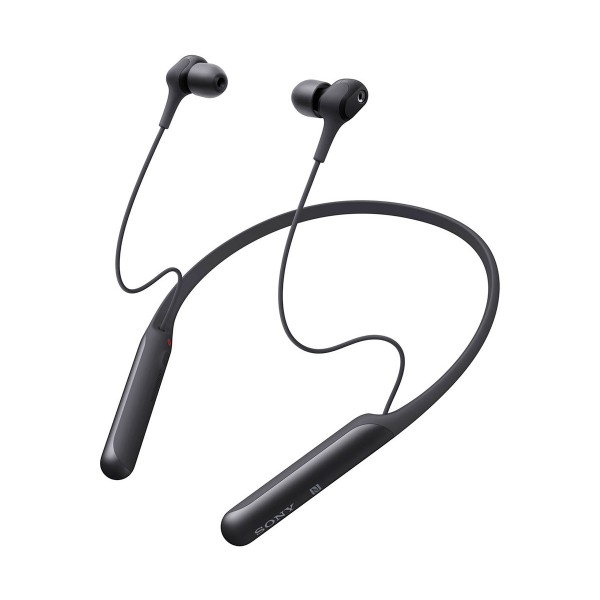 Sony wi-c600 negro auriculares inalámbricos de botón in-ear bluetooth nfc noise cancelling
