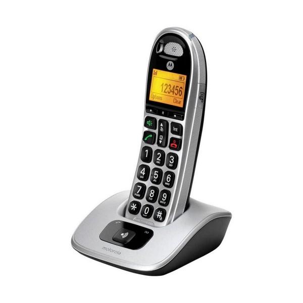 Motorola cd301 plata teléfono fijo inalámbrico dect gab teclas grandes