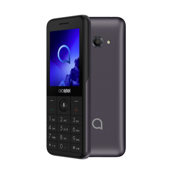 Alcatel 3088 gris móvil senior sim 4g 2.4'' tft qvga/512mb/4gb ram/3.2mp wifi microsd bluetooth