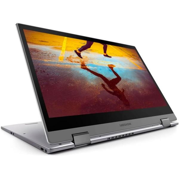 Medion s4401 plata portátil 14'' táctil fullhd i5-8250u 3.4ghz 256gb ssd 8gb ram w10 home