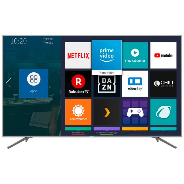 Hisense h75be7410 televisor 75'' lcd direct led uhd 4k 1800hz dolby vision smart tv wifi ci+ hdmi usb reproductor multimedia