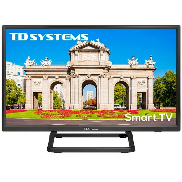 Td systems k24dlx10hs televisor 24'' lcd direct led smart tv hd ready hdmi usb ci+ dolby digital plus