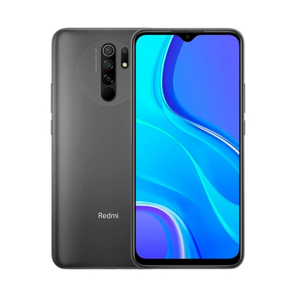 Xiaomi redmi 9 gris carbono móvil 4g dual sim 6.53'' ips fhd+/8core/64gb/4gb/13+8+5+2mp/8mp