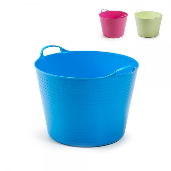 basket 40l cesto flexible multiuso colores surtidos ipae pro garden