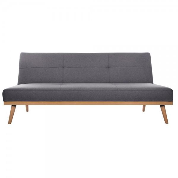 Sofa-cama gris oscuro 182x80x80cm 'dohan'
