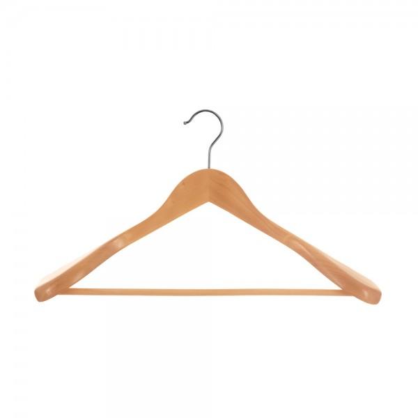 Percha de madera para chaquetas